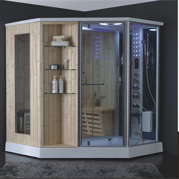 Baño Turco Domestico:Home Sauna Steam Room