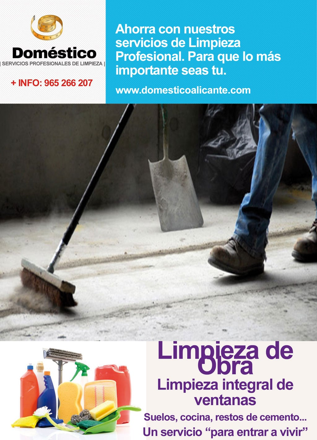 Limpieza de obra dom stico alicante limpieza del hogar - Limpieza de hogares ...